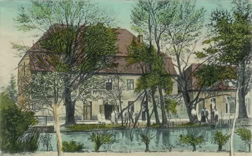 Historische Bilder der Mönchmühle
