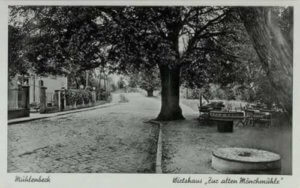 Historisches Bild der Mönchmühle Mühlenbecker Land