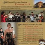 Historische Mönchmühle Flyer der Phönix Orchester Akademie 2018