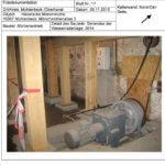 Bilddokumentation der Sanierung 2015