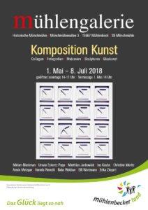 Mühlengalerie: 1. Kunstausstellung 2018