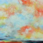 Helga Dieckmann: Bild der Kunstaustellung Mühlenmagie und Farbenzauber