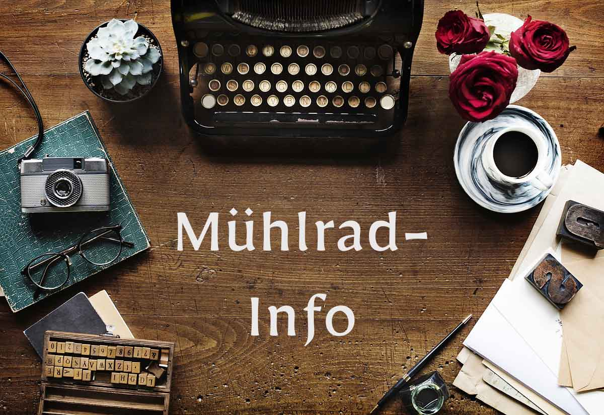 Mühlrad-Info Nr. 44, Ausgabe II | 2019