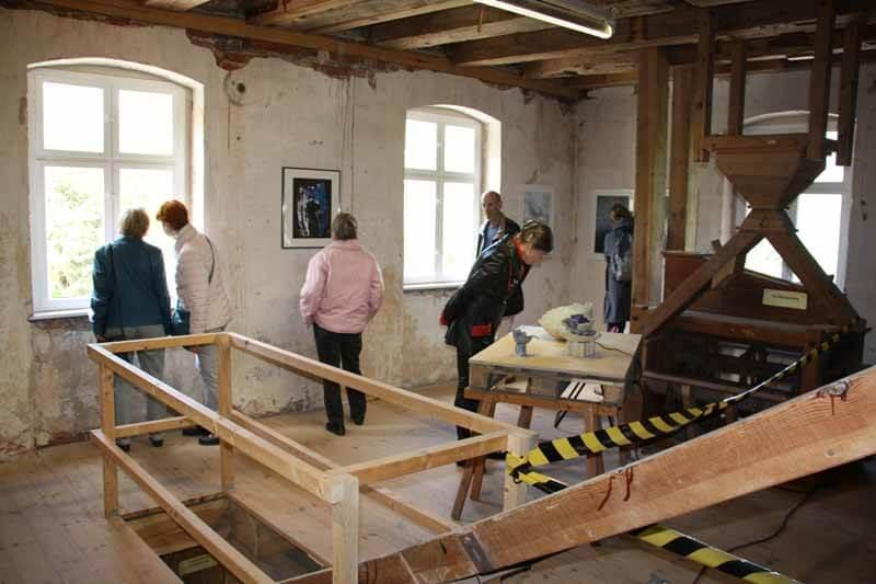 Historische Mönchmühle Mühlengalerie Ausstellung WasserWege