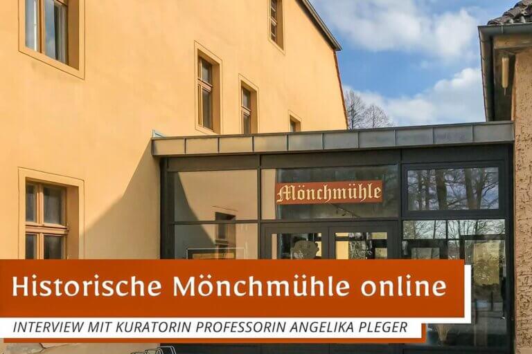 Historische Mönchmühle | Interview zu Kunst im Fenster mit Angelika Pleger